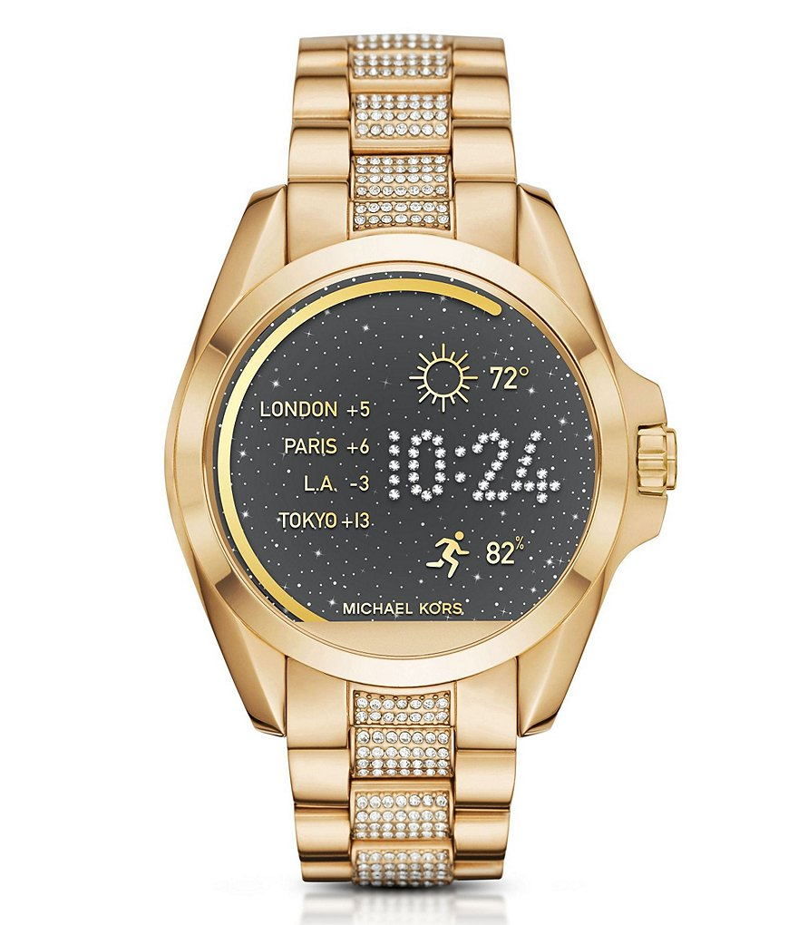 Michael Kors Access Bradshaw Pavé Bracelet Smart Watch