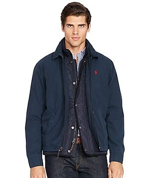 Polo Ralph Lauren Big & Tall Landon Lightweight Poplin Windbreaker