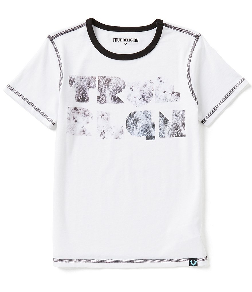 True Religion Big Boys 8-20 Short-Sleeve Moon Graphic Tee