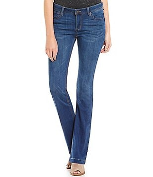 Celebrity Pink Mid-Rise Skinny Bootcut Super-Soft Jeans