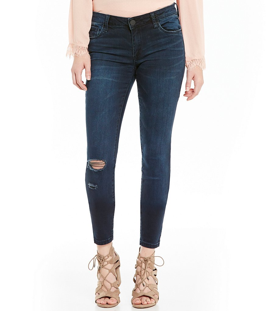 STS Blue Piper Destructed Piper Skinny Jeans