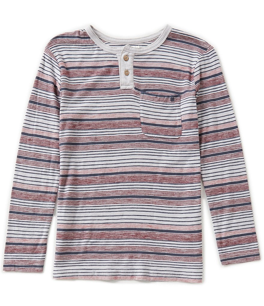 Lucky Brand Big Boys 8-20 Crafted Henley Shirt