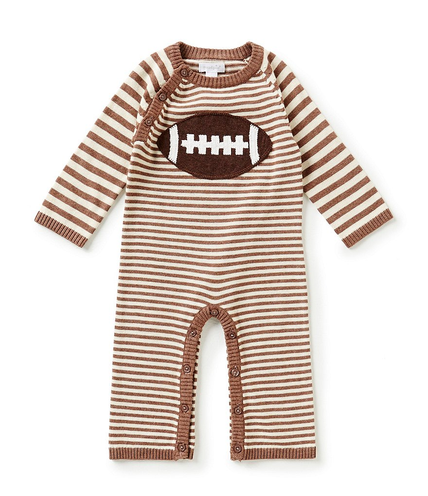 Mud Pie Baby Boys 6-18 Months Football Coveralls
