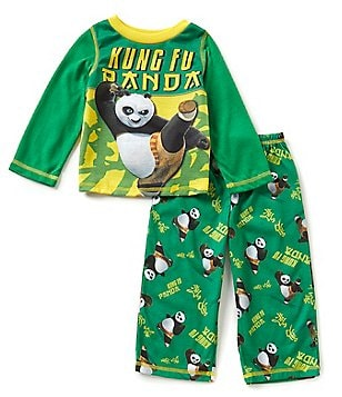 Komar Kids Little Boys 2T-4T Kung Fu Panda Pajama Top & Pajama Pants Set