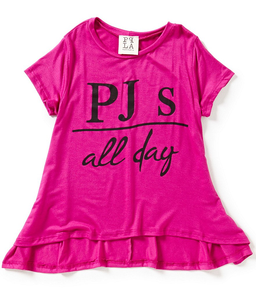 People's Project LA Big Girls 7-16 PJ's All Day Tee