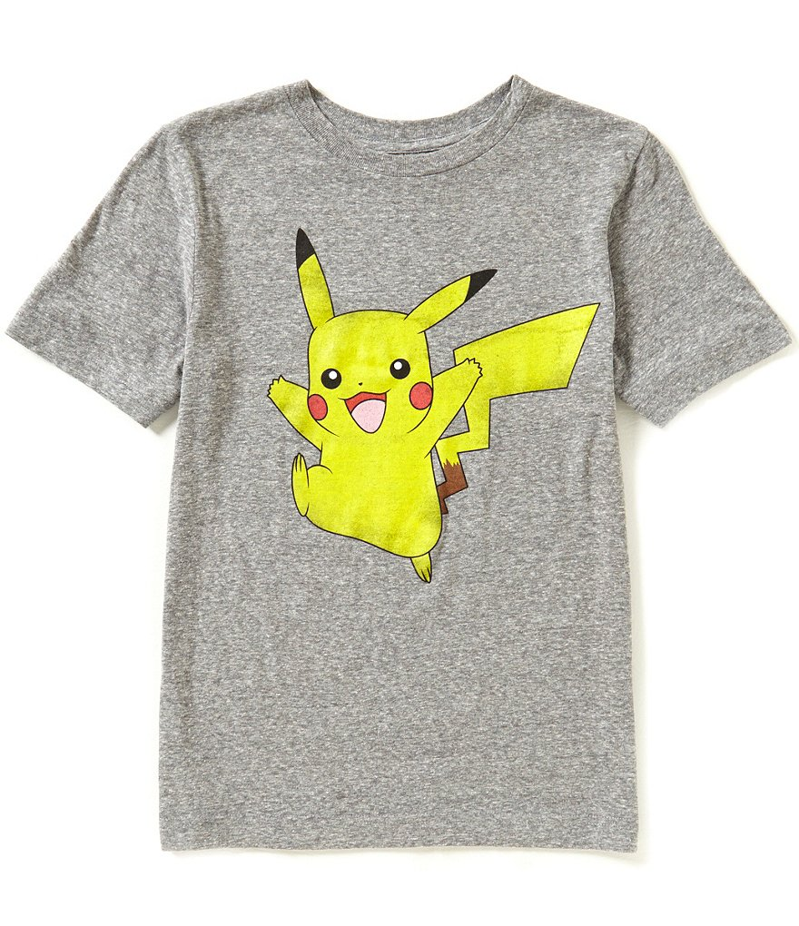 Pokèmon Big Boys 8-20 Pikachu Pika Jump Short-Sleeve Tee