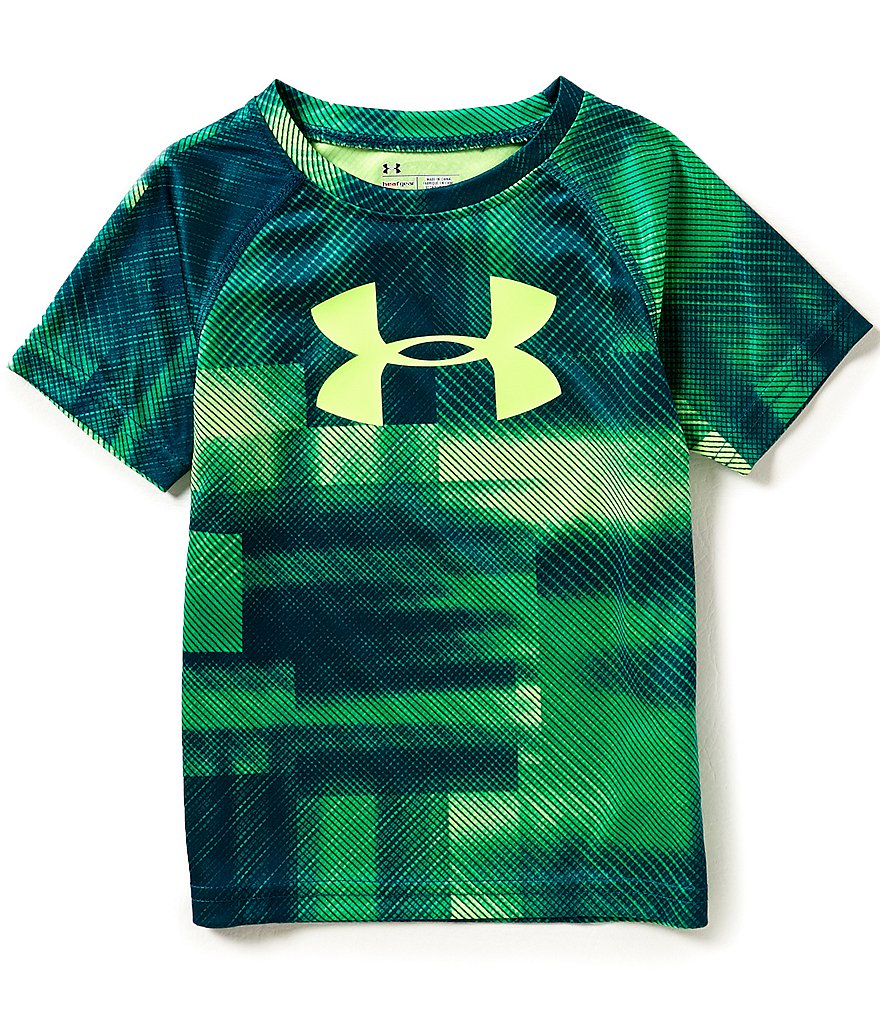Under Armour Little Boys 2T-7 Blast Tie-Dye Short-Sleeve Tee