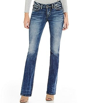 Silver Jeans Co. Suki High Slim Faded Bootcut Jeans