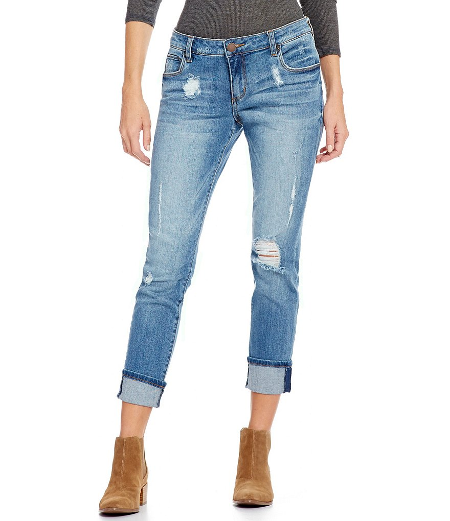 STS Blue Destructed Taylor Tomboy Boyfriend Jeans