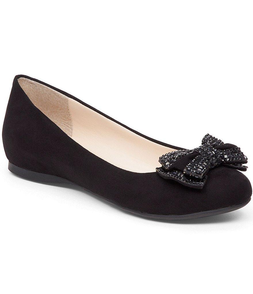 Black:Jessica Simpson Mizella Flat