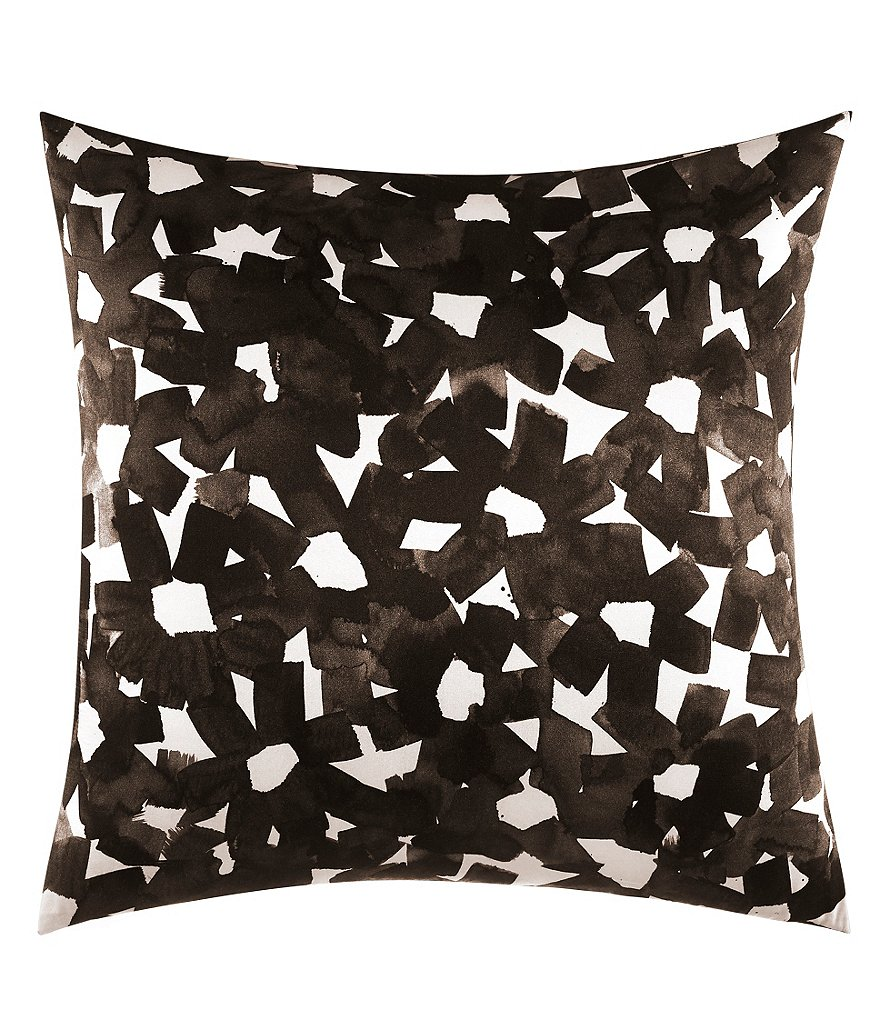 kate spade new york Lacey Daisy Inky Floral Square Pillow