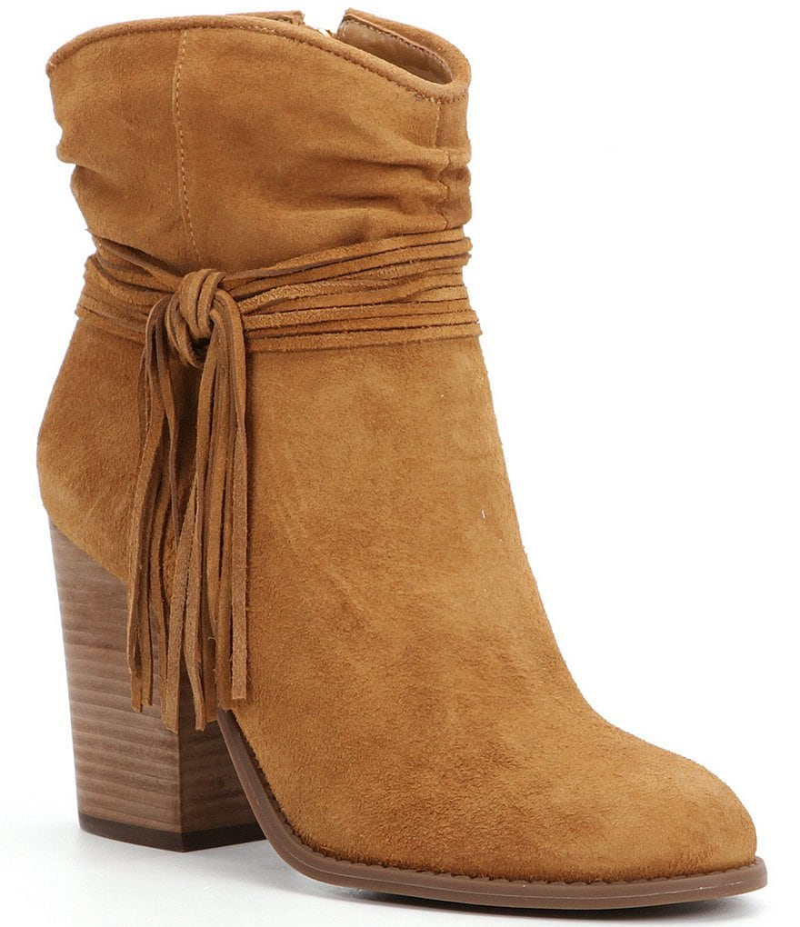 Jessica Simpson Sesley Fringe Ankle Boot