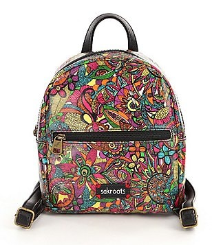 Sakroots Artist Circle Mini Cross-Body Backpack