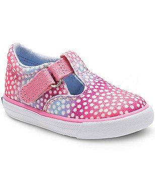 Keds Girl´s Daphne Synthetic Glitter Hook and Loop Sneakers