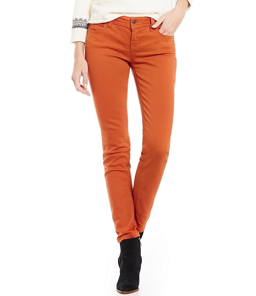 Miss Me Stitched Mid-Rise Skinny Jeans