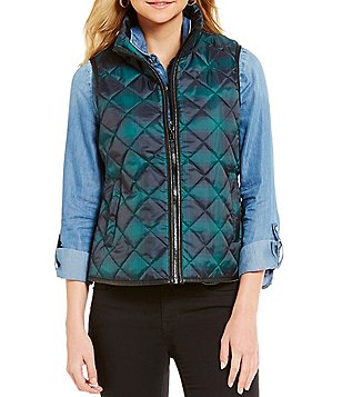 Indigo Saints Lucy Plaid Cabin Vest