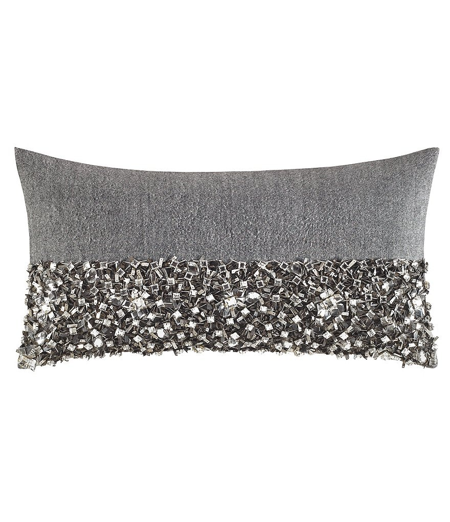 kate spade new york Lacey Daisy Jeweled Breakfast Pillow