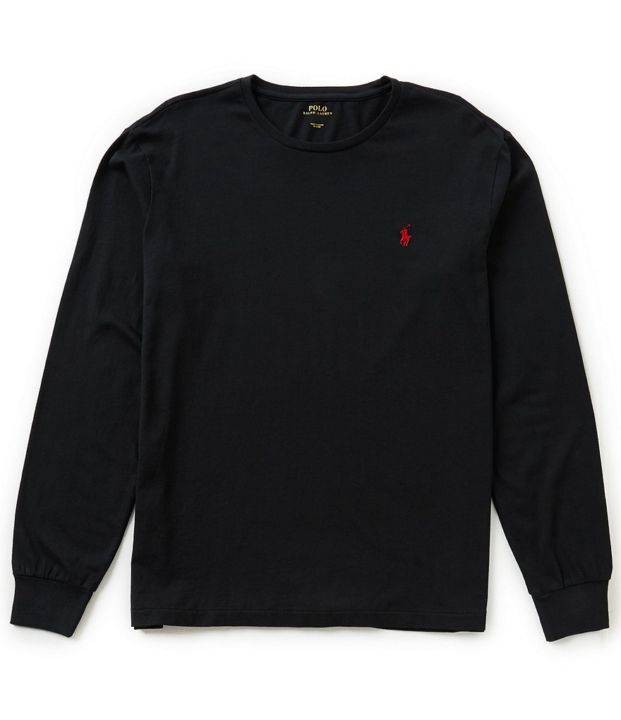 Polo Ralph Lauren Jersey Crewneck Long-Sleeve Tee