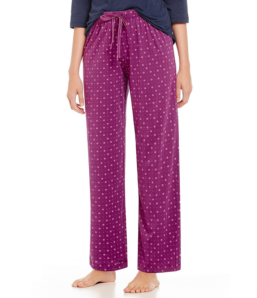 Karen Neuburger Urban Safari Geometric Pajama Pants