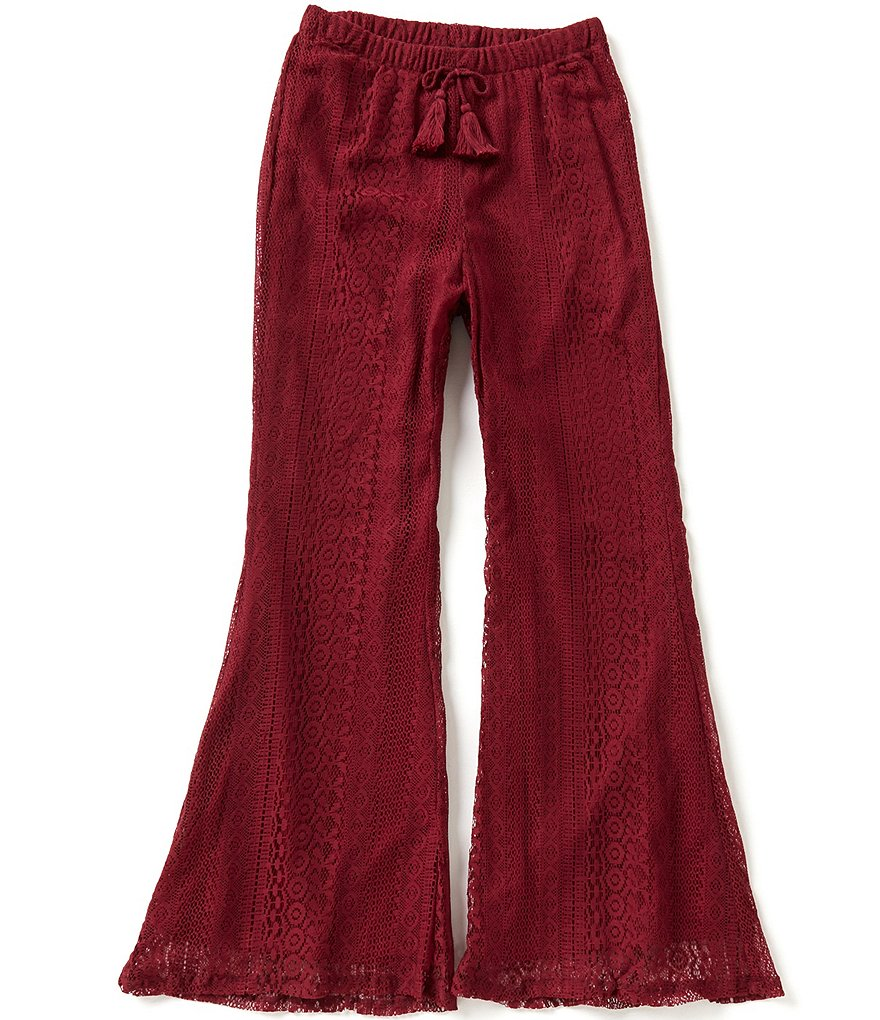 Zoe & Rose by Band of Gypsies Big Girls 7-16 Lace Palazzo Pants