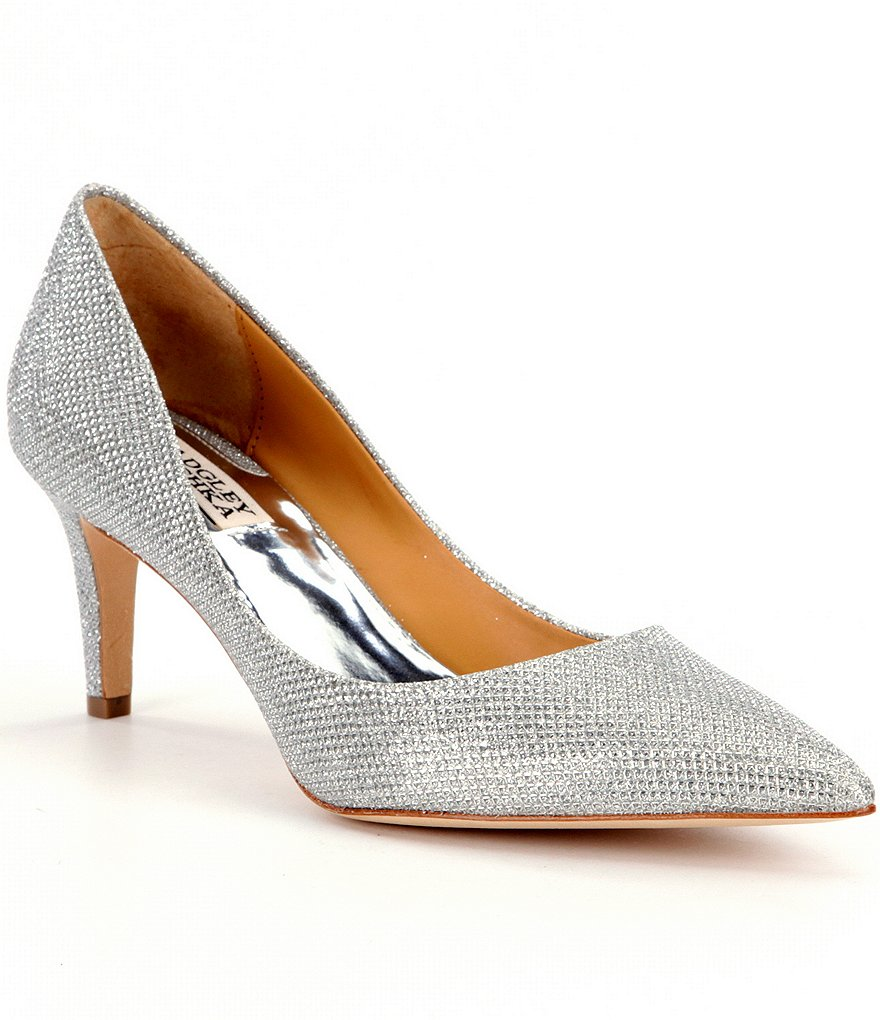 Badgley Mischka Poise Pumps