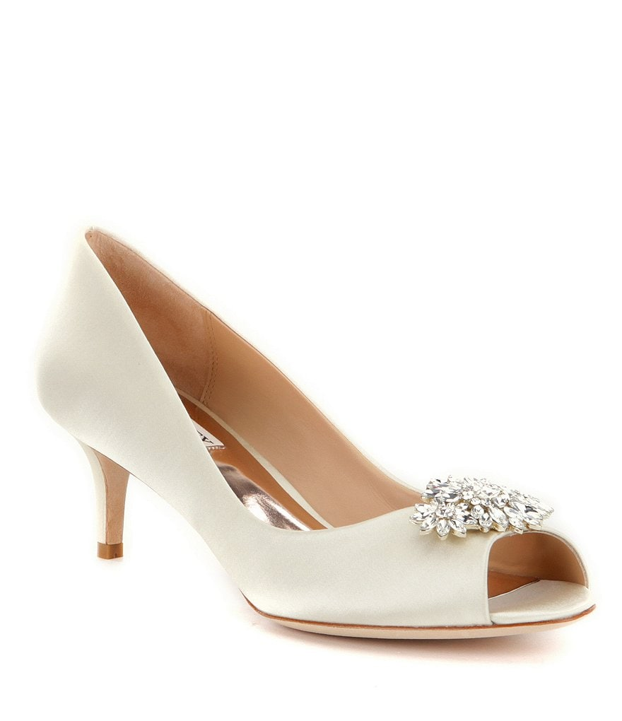 Badgley Mischka Nakita Peep Toe Pumps