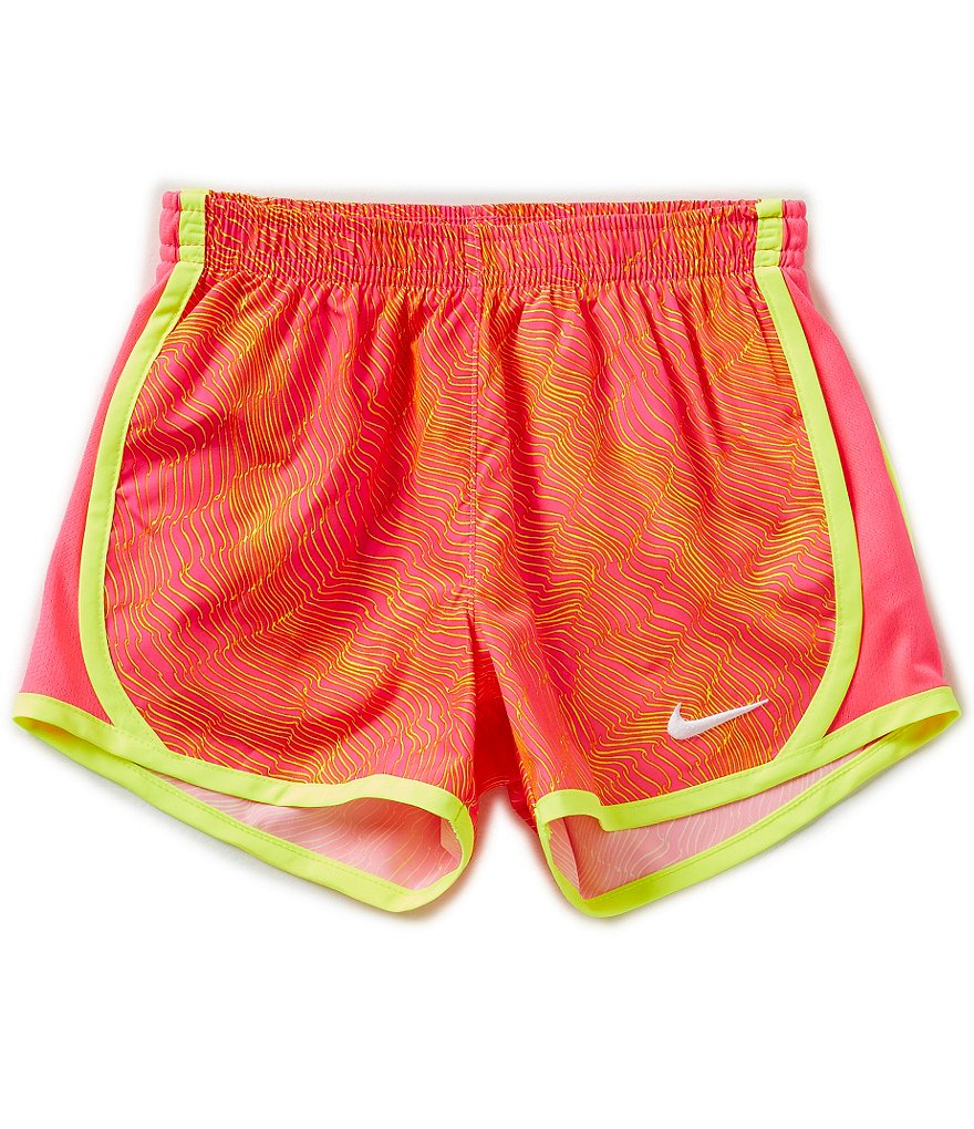 Nike Little Girls 2T-6X Printed Tempo Dry Shorts