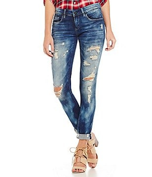 Chelsea & Violet Destructed Boyfriend Jean