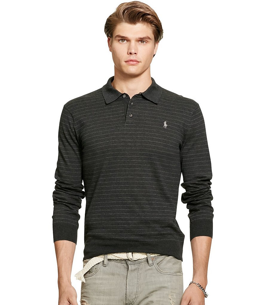Polo Ralph Lauren Polo Collar Pima Cotton Sweater