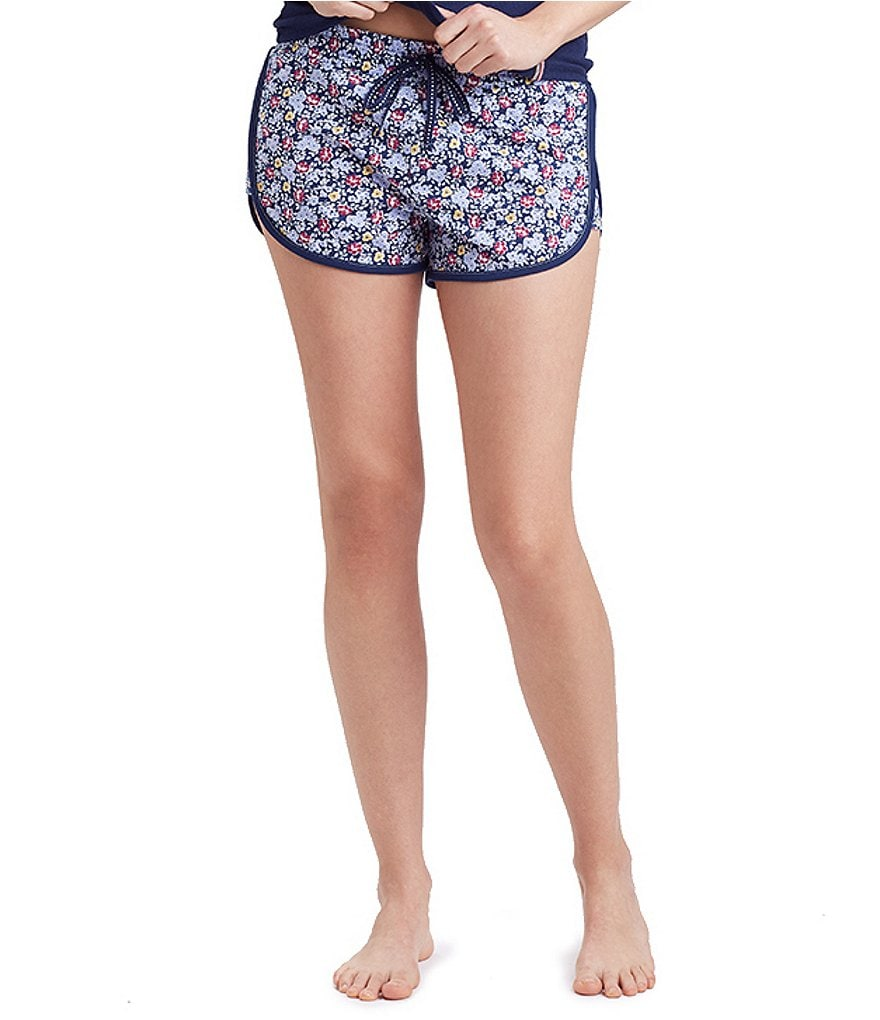 Jane & Bleecker Floral Jersey Sleep Shorts