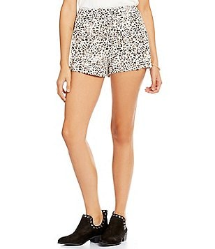 Billabong Sunny Eyes Cheetah-Print Shorts