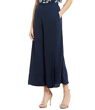 Keepsake Meadows Wide-Leg Cropped Culotte Pant
