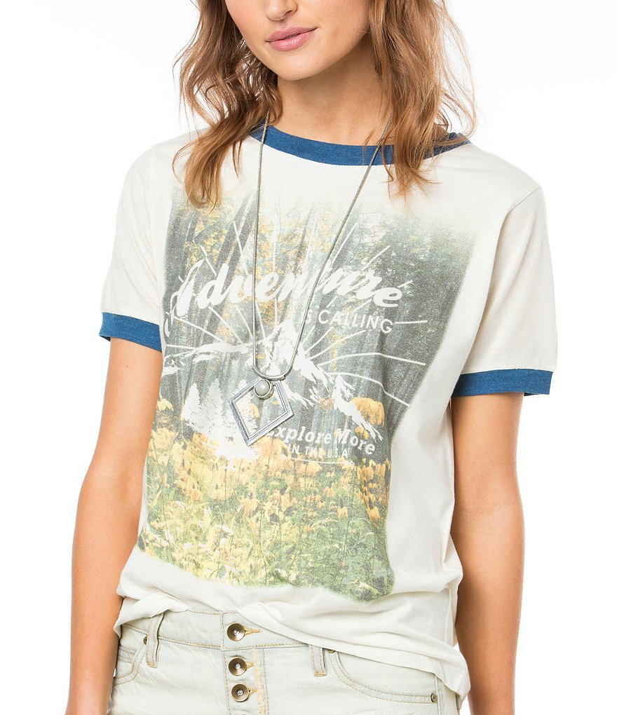 O´Neill Redding Graphic Short-Sleeve Knit Tee
