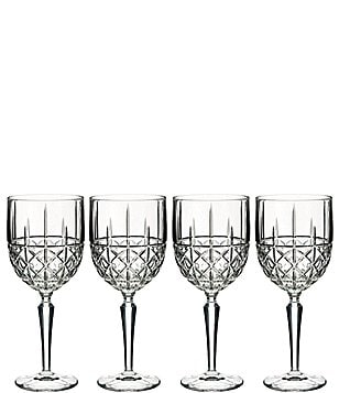 Marquis by Waterford Brady Crystal Wine Glasses, Set of 4