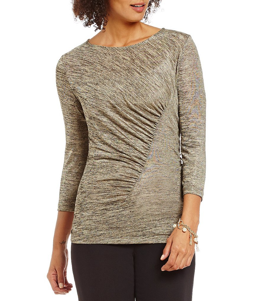 Preston & York Kyle Knit 3/4 Sleeve Top