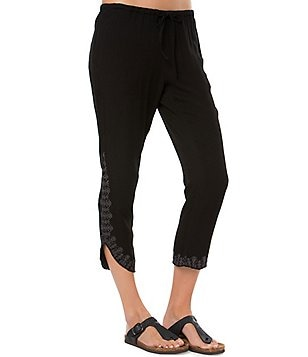 O´Neill Vince Embroidered-Tulip-Hem Pants