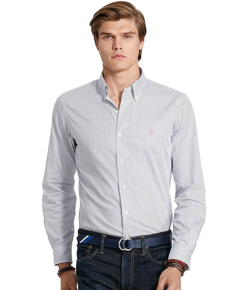 Polo Ralph Lauren Striped Twill Sport Shirt