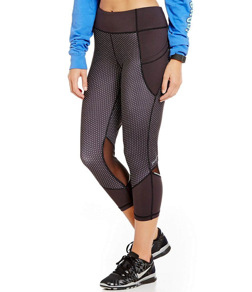 Jadelynn Brooke Mesh Inset Leggings