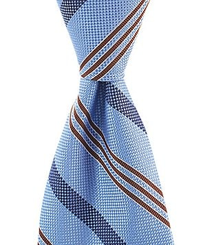 Brooks Brothers Alternate Stripe Traditional Silk Tie