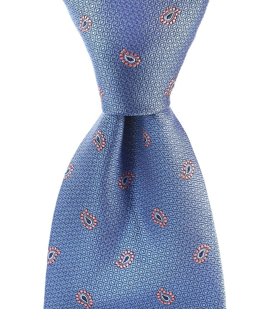 Brooks Brothers Textured Pine Traditional Silk Tie