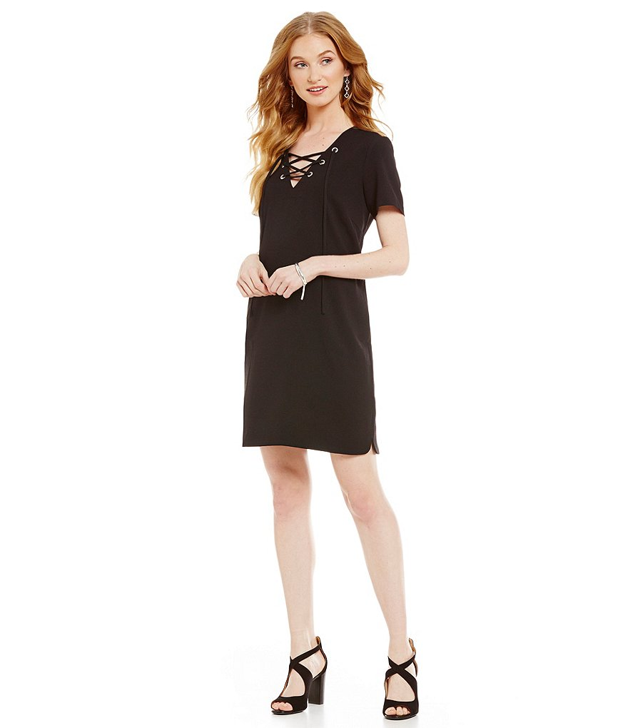 CATHERINE Catherine Malandrino Marius Lace Up Dress