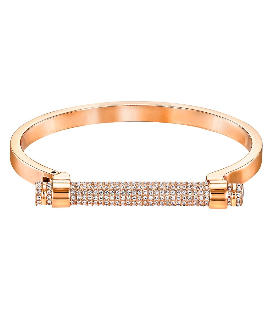 Swarovski Friend Pavé Bangle Bracelet