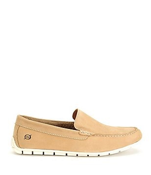 Born Men´s Allan Nubuck Leather Lined Slip On Loafers