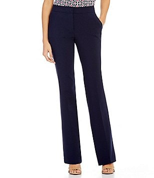 Trina Turk Danno Flat Front Straight Pant