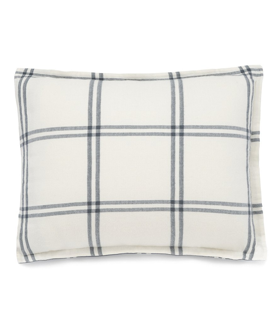 UGG® Flannel Luxe Windowpane Reversible Sham