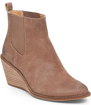 Lucky Brand Pallet Wedge Booties