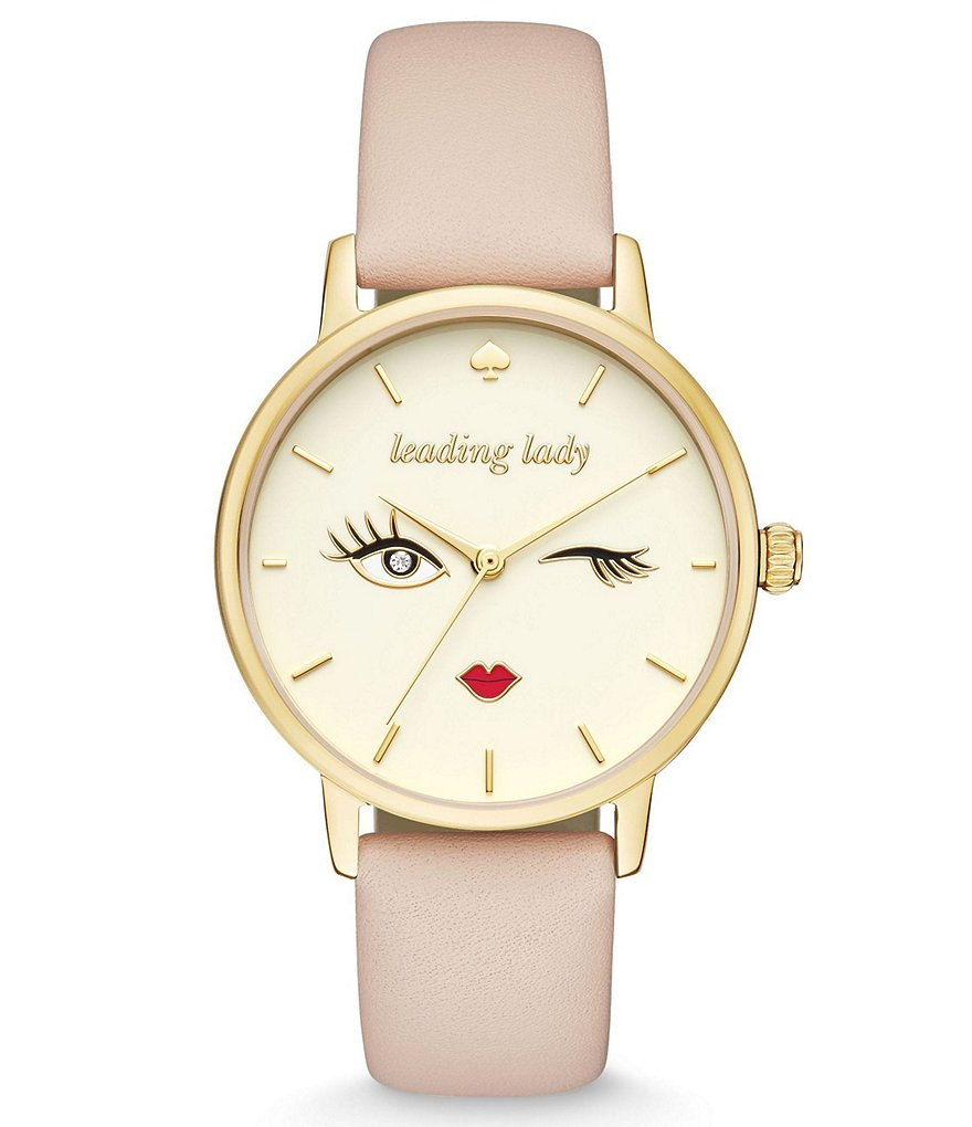kate spade new york Metro Leading Lady Novelty Watch