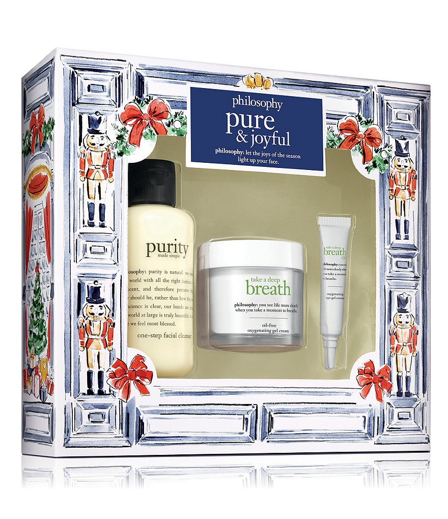 philosophy pure & joyful gift set