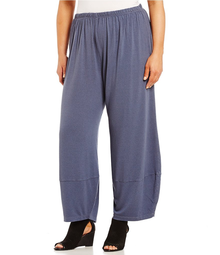 Bryn Walker Plus Oliver Wide Leg French Terry Pants