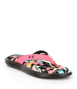 Under Armour Women´s Marbella Slip-On Floral Thong Sandals